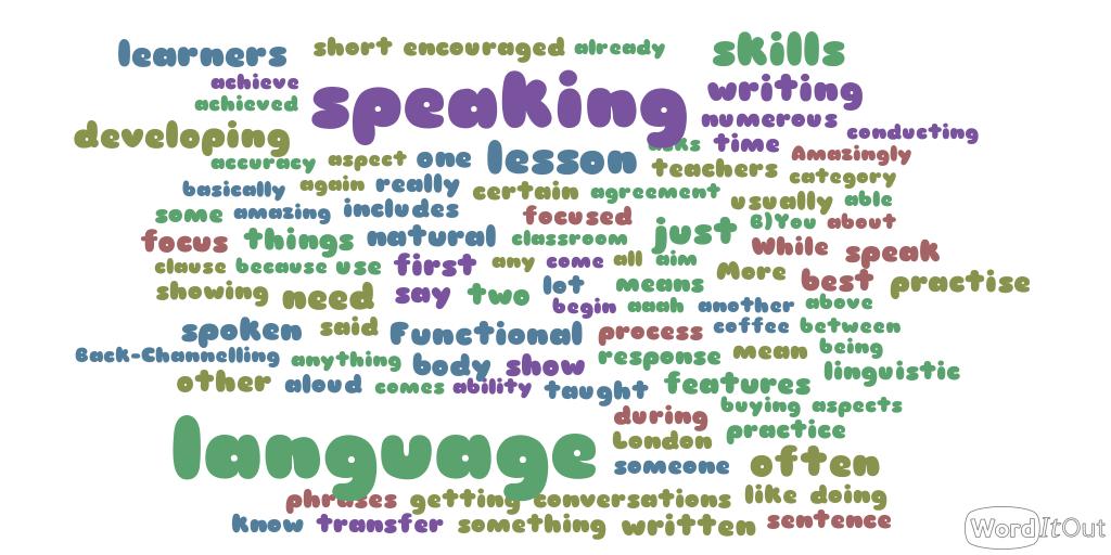 macro skills Language teaching covers four macro-skills needed for communicating –  listening, speaking, reading and writing good language teachers.