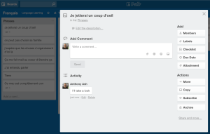 Trello inside note
